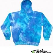 Blue Mix Tye Dye Hoodie