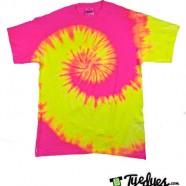 Fluorescent Swirl Tye Dye