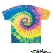 Neon Rainbow Tye Dye