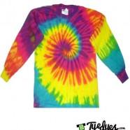 Reactive Rainbow tye dye
