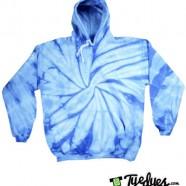 Baby Blue Tye Dye Hoodie