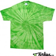 Spider Lime tye dye