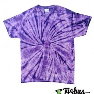 Spider Purple tye dye
