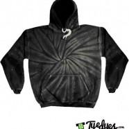Black Tye Dye Hoodie