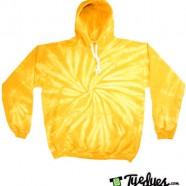 Gold Tye Dye Hoodie