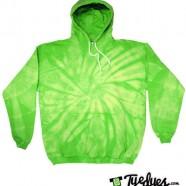 Lime Tye Dye Hoodie