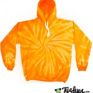 Orange Tye Dye Hoodie