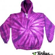 Purple Tye Dye Hoodie