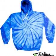Royal Blue Tye Dye Hoodie